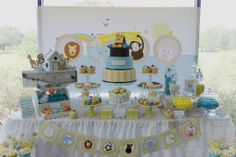 Noah's Ark Dessert Table | Noah's Ark Dessert Table | Arca de Noé