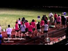 Flash mob at McLean County Relay for Life (+playlist)