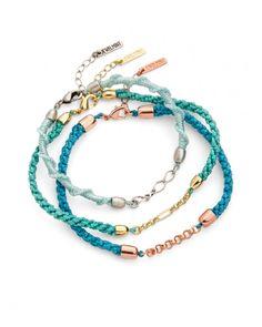 Jewels+Mints: JewelMint's Natural Beauty Bracelets | April 2012 Friendship Bracelet Collection