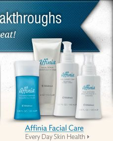 Melaleuca's new skincare line  I've tried this myself!! Great products! and I have extremely sensitive skin...for more information contact me at hohman.ashley@yahoo.com