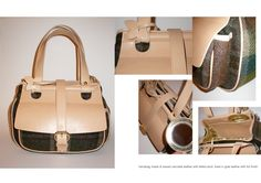 beatearens handbag leather and wool Leather Handbags, Bear, Wool, Leather Totes, Bears, Leather Bags, Leather Purses