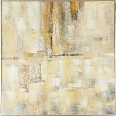 An involving study in multi-tonal effects, this hand-painted acrylic on canvas works with a variety of decor options. Combining palette knife and brushwork, its richly textured paint reveals a shifting range of colors as the light plays across its surface.