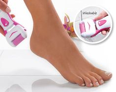 Pedi Express Roller, buff wet or dry skin feet smooth foot care #Klife