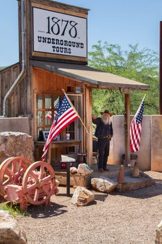 The Old West is what Tombstone, Arizona is selling. Click here to find out more!