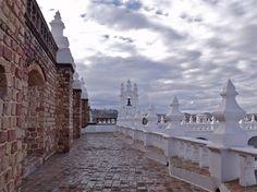 O terraço do convento de San Felipe de Neri, acessível aos visitantes, é uma das mais belas imagens de Sucre #Argentina