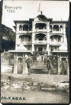Anadolu Kavağı/Marko Paşa Köşkü-1920. Marko paşa osmanlı sarayında paşa rütbesiyle padişaha hizmet etmiş bir hekimdir.