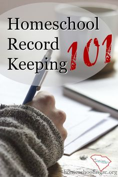 The basic homeschool record keeping requirements for getting started in South…