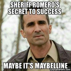 Bates Motel - Meme - Sheriff Romero - Nestor Carbonell - Maybelline - TV Drama Fans