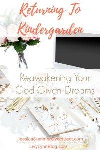 Dreams are not just for Kindergardeners. God has placed big dreams ans hopes in all of His children. You are divinely equipped to do exactly what God has called you to do. Rediscover your dreams today and then go follow them with all of your heart! #dreams #dreamer #followyourheart