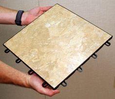Basement Flooring Idea