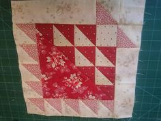 Next block in new quilt