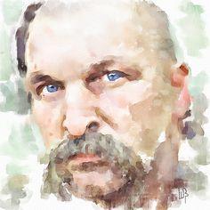 Vitaly Shchukin (piker77)              DIGITAL WATERCOLOR  Cossack