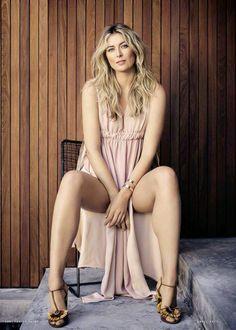 """mariasharapovadaily: """"""""Maria Sharapova for Vanity Fair Spain April 2017. """" """""""