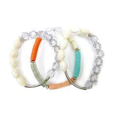 color block bangles