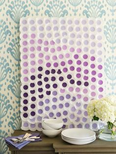 Baking Cup Wall Art + More Ways to Use Lavender This Season