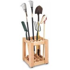 Tool Rack - Red Cedar by Cedar Creek Stacks and Stacks, looks like it could be a DIY