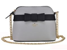 Sarah Birds Boutique - Elsa Bow Front Small Shoulder Bag in Grey with Gold Chain Strap, £18.99 (http://sarahbirdsboutique.co.uk/elsa-bow-front-small-shoulder-bag-in-grey-with-gold-chain-strap/)