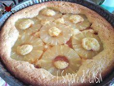 Torta ananas e marmellata di albicocche