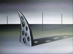 Olje på lerret, 60x80 cm
