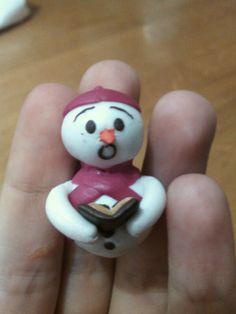 polymer clay christmas ornament handmade by me =)