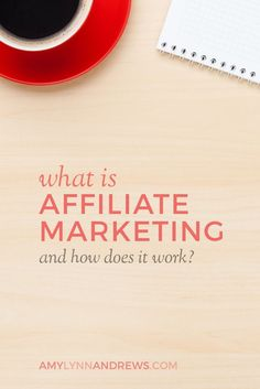 What is affiliate marketing and how does it work?  See more…
