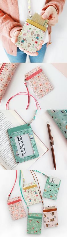 Easily carry your bus pass, building access card, ID, and more with the Willow Pattern Neck Card Pocket & Strap Set! With lovely patterns and a practical design, it's a must-have for commuting and busy mornings. Nothing beats the convenience of having your cards so easily accessible, so check it out!