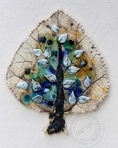 """Dekor ceramiczny """"drzewo"""""""