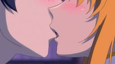 i wish i had a boyfriend…and we could kiss like this…. GAWD anime youre so perfDx