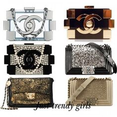 Chanel trendy clutches for 2014 – 2015 | Just Trendy Girls