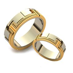 Wedding rings, wedding ring designs, beautiful wedding rings, custom designs in this photo gallery. We chose from many examples.