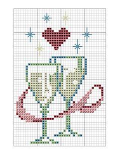 champanhe-Gráficos-de-ano-novo-ponto-cruz.png (450×611)