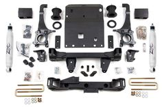 """Zone Offroad - 6"""" Suspension Lift Kit - 05-15 Toyota Tacoma (T3)"""