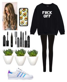 """"""""""" by joycereina ❤ liked on Polyvore featuring Oasis, French Connection, adidas, Pomax, Bobbi Brown Cosmetics and NARS Cosmetics"""
