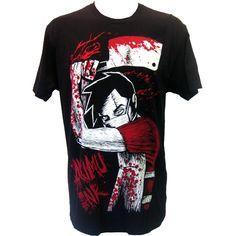 Akumu Ink Butcher T-Shirt | Gothic Clothing | Emo clothing |... ($34) ❤ liked on Polyvore