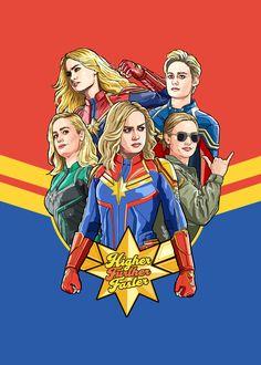 The Captain of My Heart Marvel Comics, Marvel Comic Books, Marvel Heroes, Marvel Dc, Marvel Fight, Captain Marvel Costume, Captain Marvel Carol Danvers, Marvel Drawings, Marvel Girls