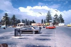 Remember hanging out here alot!  Photo shared by Steve Arnd from ARW Facebook. The old car park at the Glenelg beach.