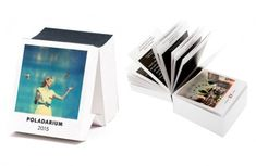 the Poladarium 2015 tear-off calendar that reveals an instant photo every day of the year.