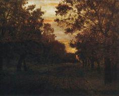 'Road in a wood' Isaac Levitan