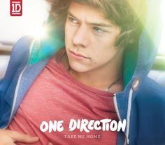 One Direction Take Me Home album - Harry slipcase.
