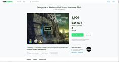 Dungeons Of Aledorn - Old-School Hardcore RPG needs your help on Kickstarter