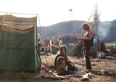 Laguna Beach Canyon 1960s, Cultural camps and early Sawdust Festival.  Hippie City!