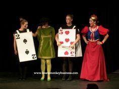 alice in wonderland guards costume diy - Google Search