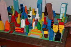 Earthquake Science Fair Project w/Legos
