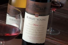 Robert Young Estate Winery | Wine Label Design by Auston Design Group