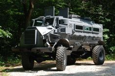 Armored Vehicle purchased by the Racine County Sheriff's Department for just $3,900. Click on the photo to read the full story