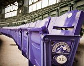 Purple Row at Coors Field