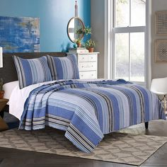 Greenland Home Brisbane Quilt Set, Full/Queen >>> You can find more details by visiting the image link. (This is an affiliate link)