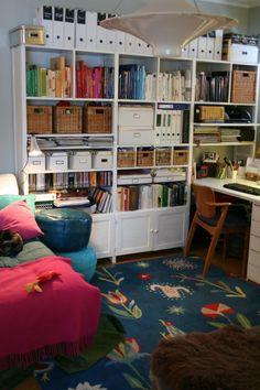 Lundia book shelf (painted)
