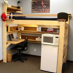 College bunk bed designs