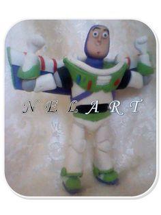 Buzz Lightyear, hecho en masa flexible.